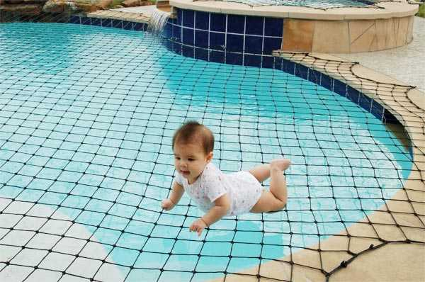 Kids safety at swimming pools for How to make a pool net