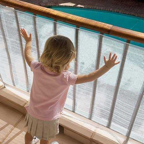 Tips for childproofing your balcony for Balcony covering nets