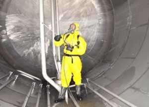 Storage Water Tank Cleaning