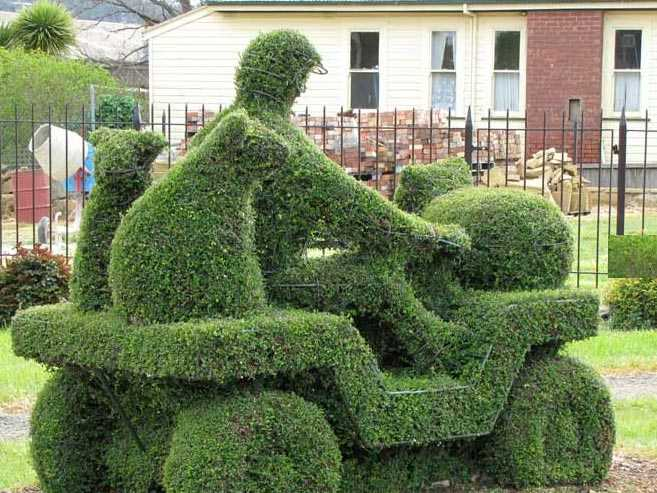 Traditional Topiary Art