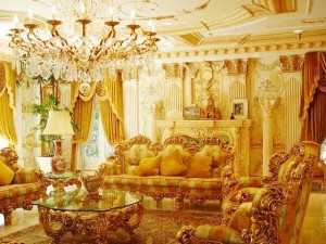 Interior House Of Shahrukh Khan