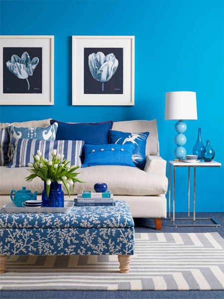 Peacock Blue Living Room: Tips To Decorate Your Home With Peacock Colours