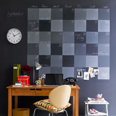 Creative ways to use chalkboard paint - Unique ways to paint a wall ...