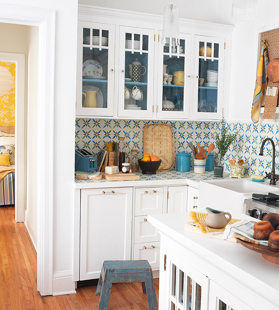 Make A Small Kitchen Look Bigger
