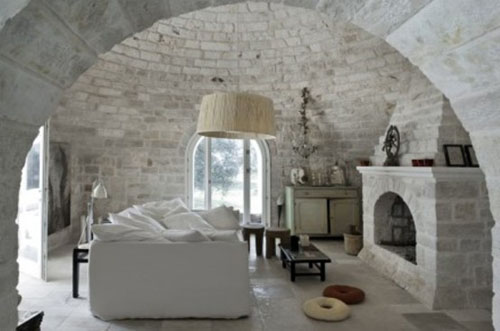Decorate your home interiors with stones : modern stone house interior1 from commonfloor.com size 500 x 331 jpeg 46kB