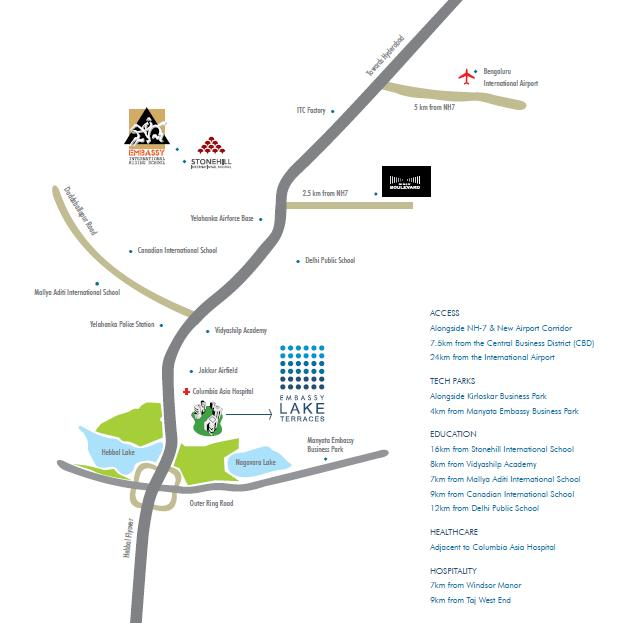 Embassy Park Apartments: Embassy Lake Terraces In Hebbal, Bangalore By Embassy