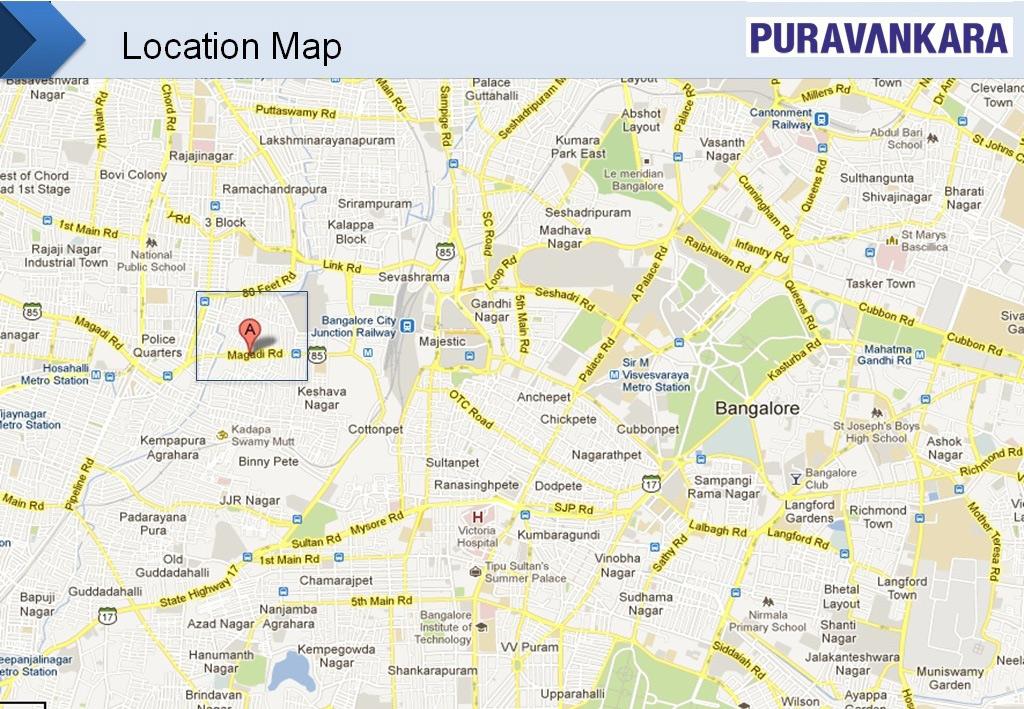 purva sunflower in rajaji nagar  bangalore buy  sale apartment online Bedroom Wiring- Diagram Bedroom Wiring Plans